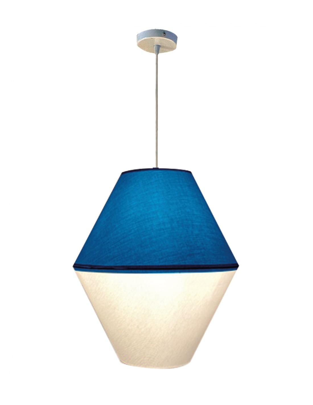 Suspension bleu d 35 cm