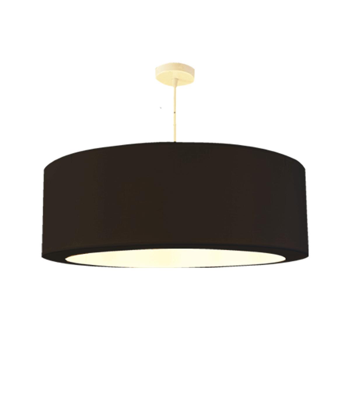 Suspension noir d 65 cm
