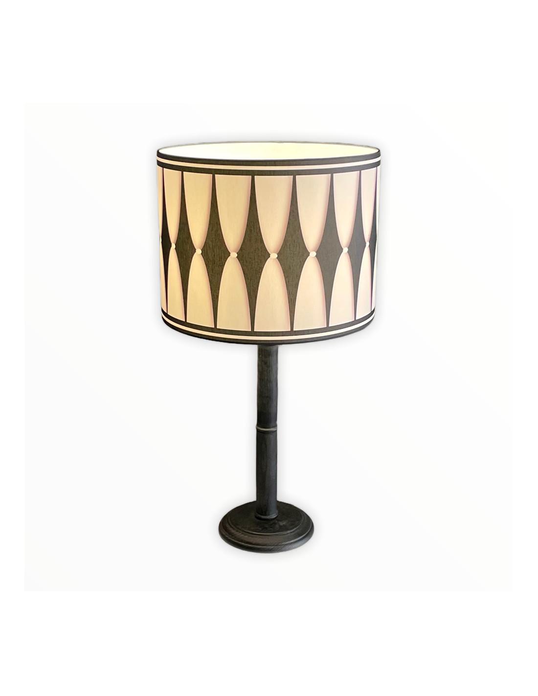 Lampe instant noir & blanc d 25 cm