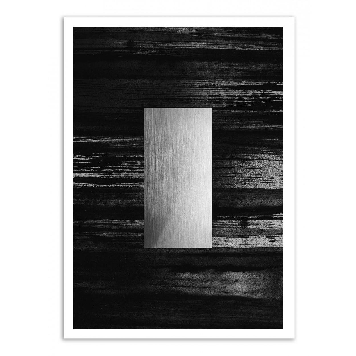 SILVER - Affiche d'art 50 x 70 cm