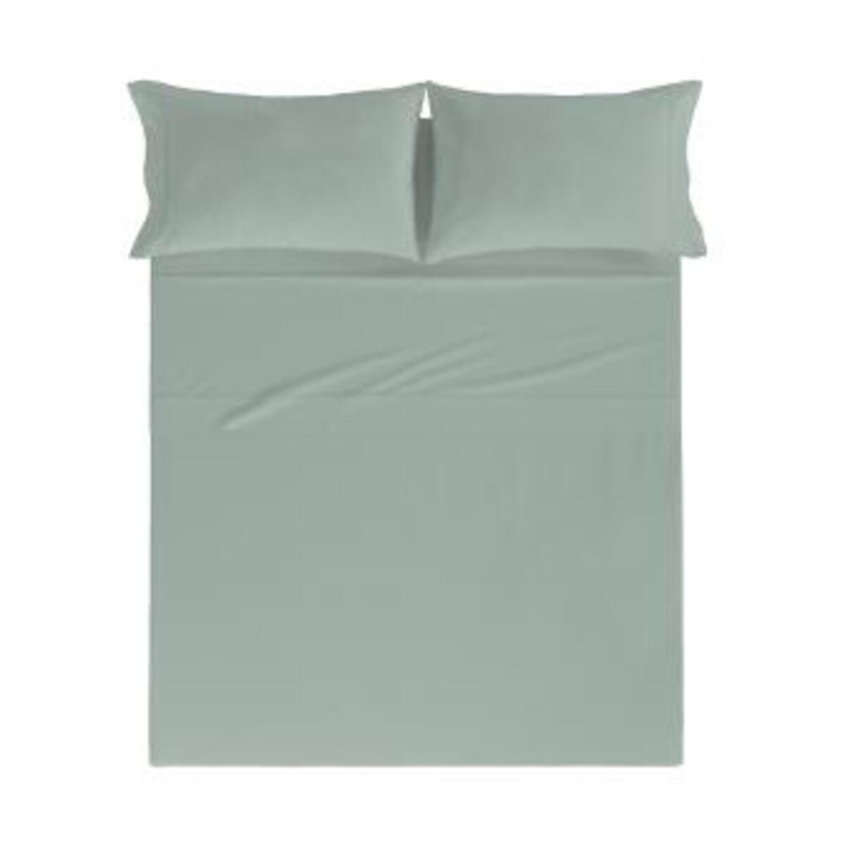 Drap de lit en coton percale thé 160x280