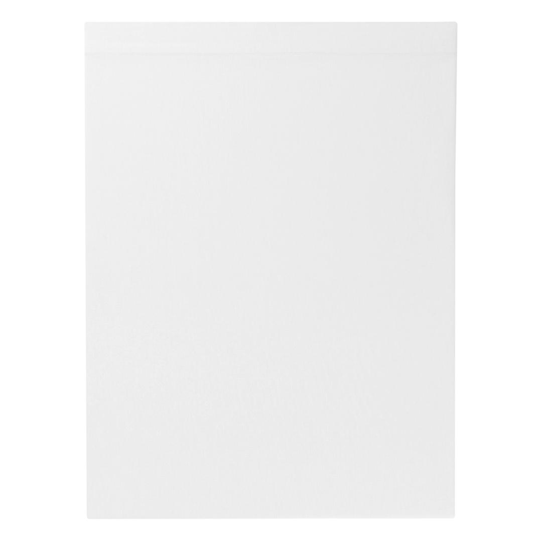 Drap plat percale coloris Blanc 270x310 cm