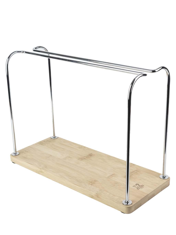 Portant pour verres à pieds en bois H24,5cm