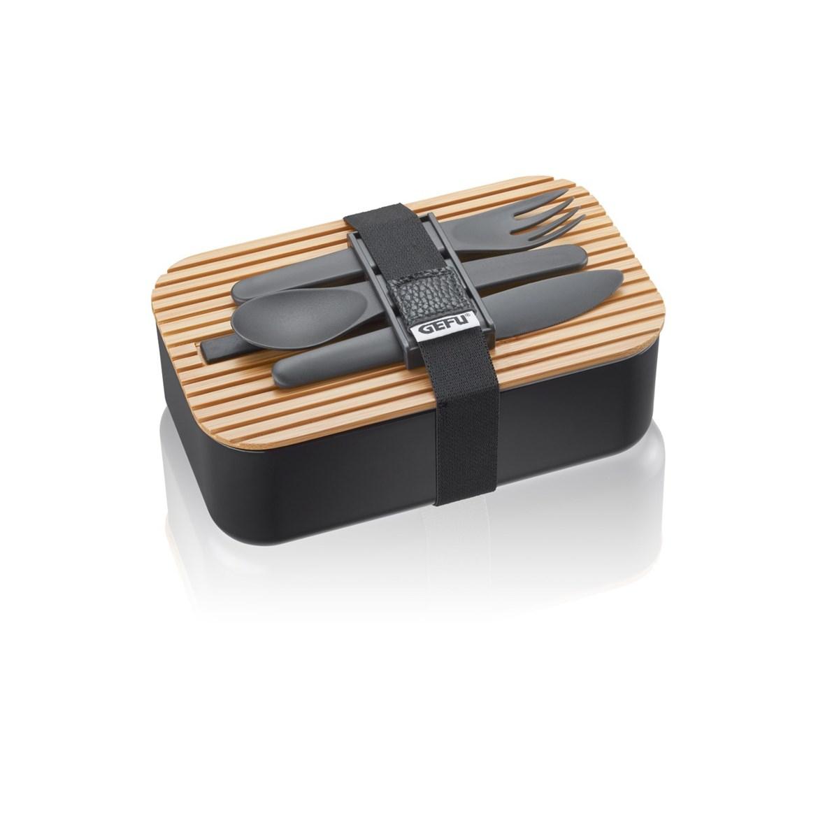 Lunch box en polypropylène noir