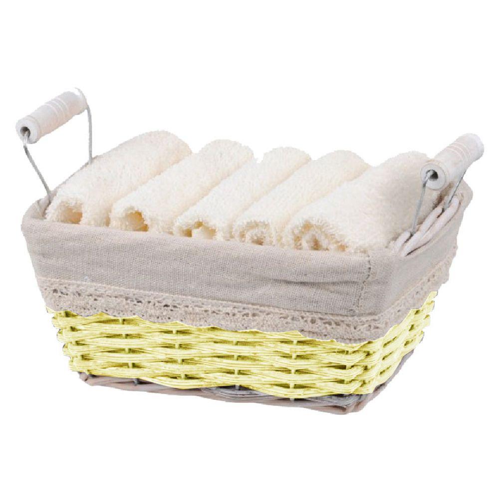 5 serviettes d'invité en coffret cadeau