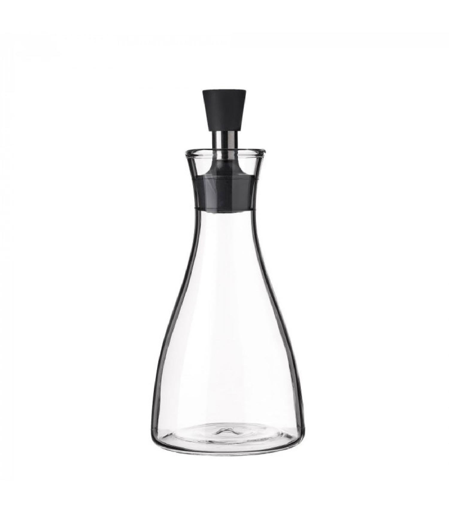 Huilier en verre transparent anti goutte 500ml