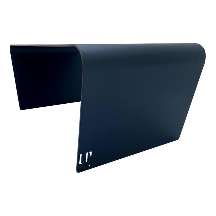 Table basse de jardin aluminium noir L98xl49cm H40cm