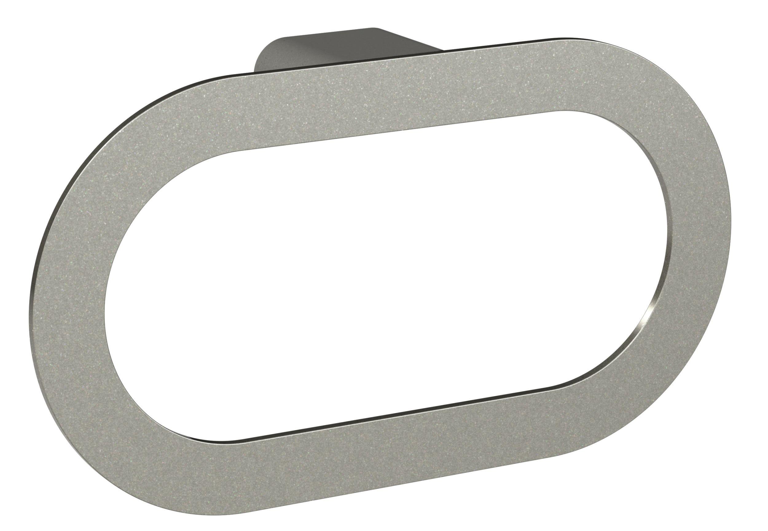 Porte-serviette à fixer gris