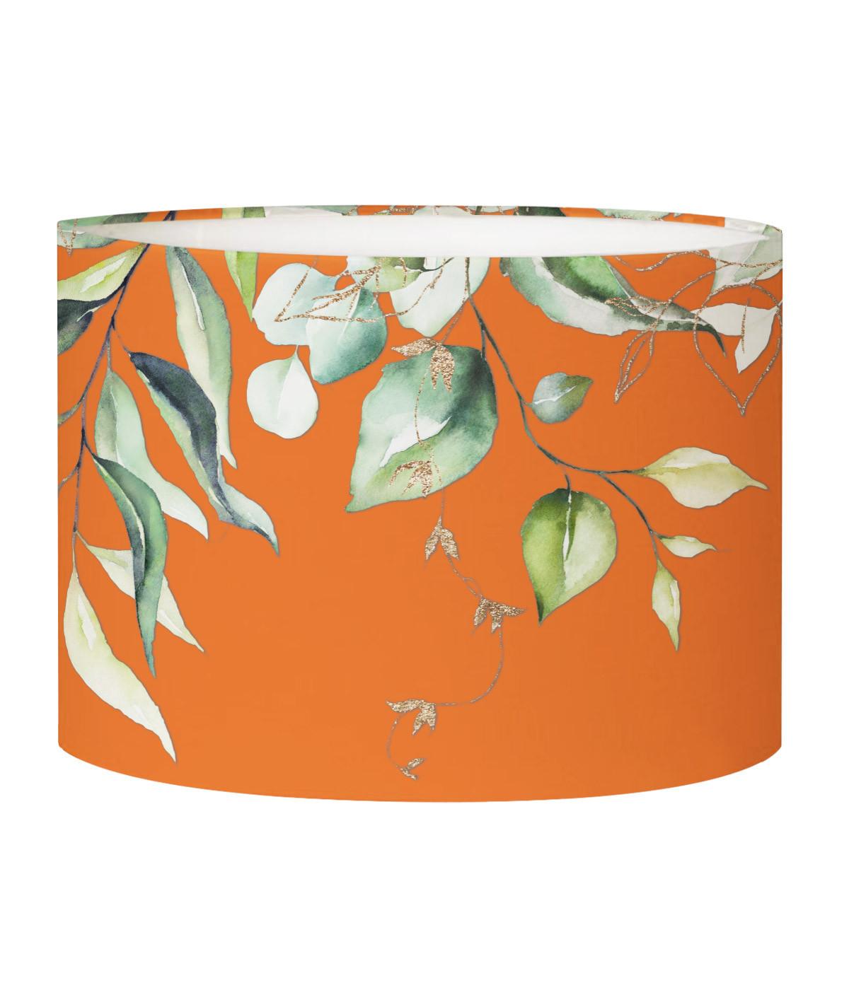 Abat-jour lampadaire branche mandarine D 45 x H 25