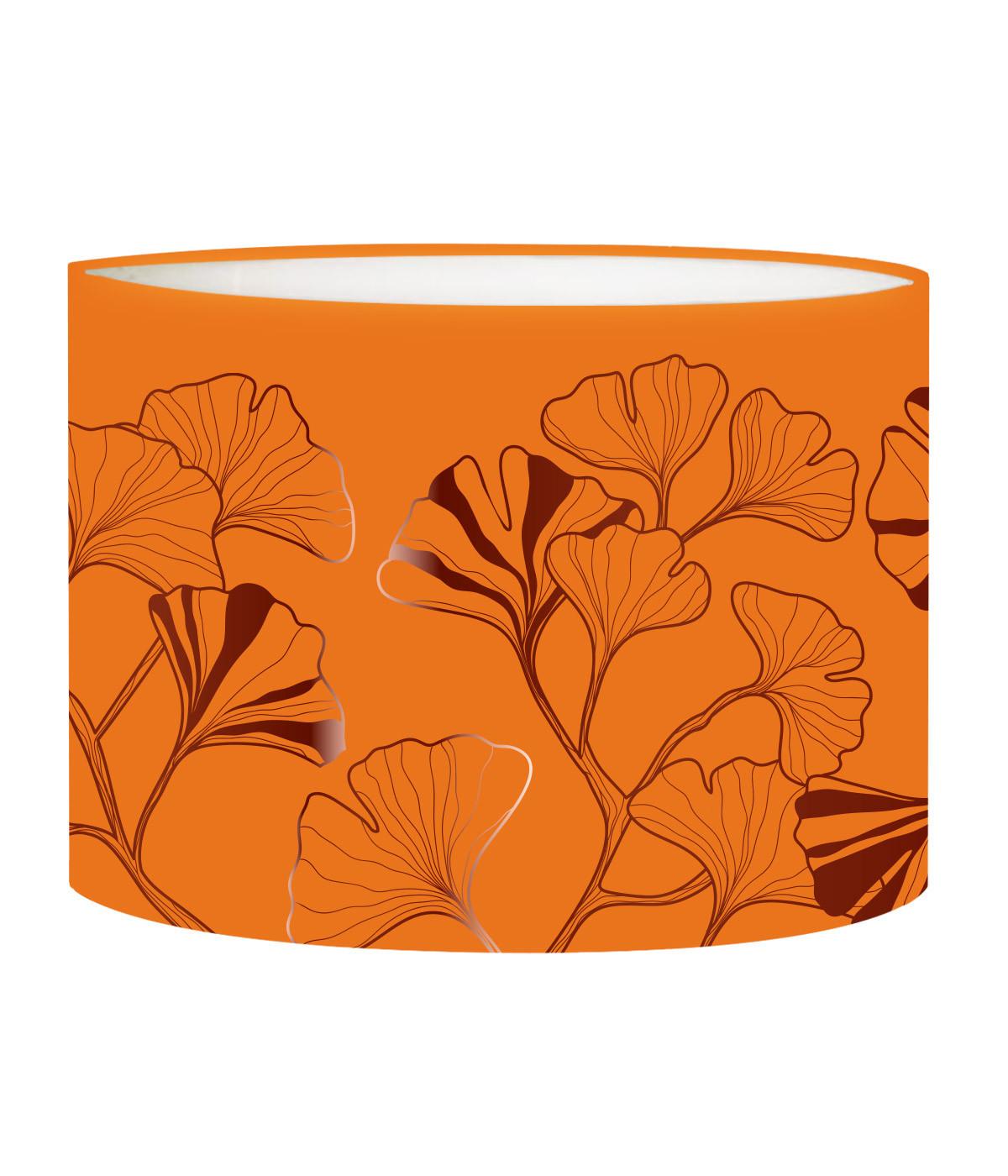 Abat-jour Lampadaire Iris Mandarine D 45 x H 25
