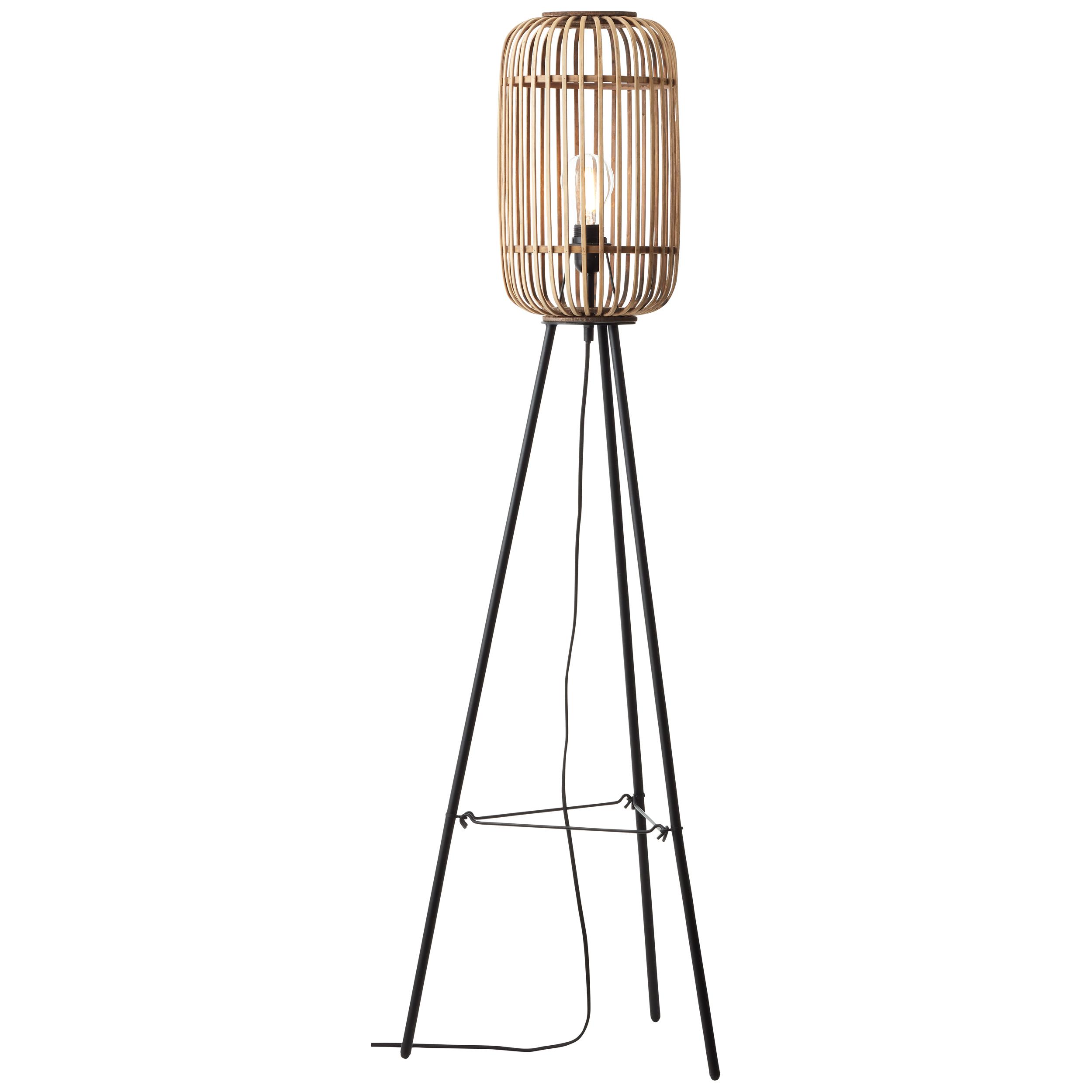 Lampadaire en bois H130cm