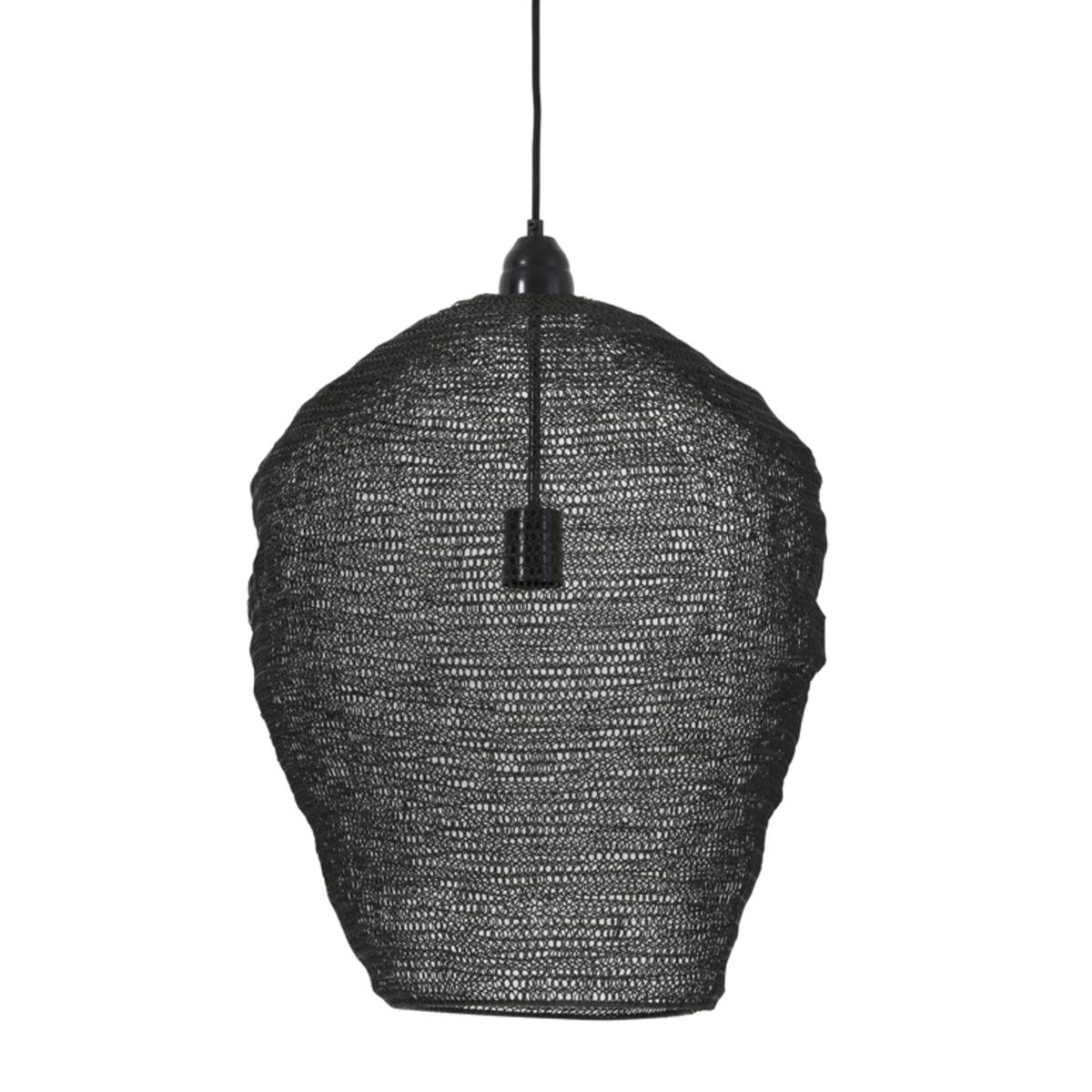 Suspension en métal noir