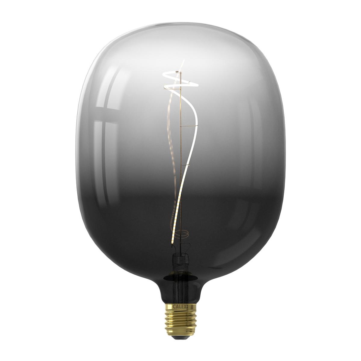 Ampoule filament décorative en verre noir