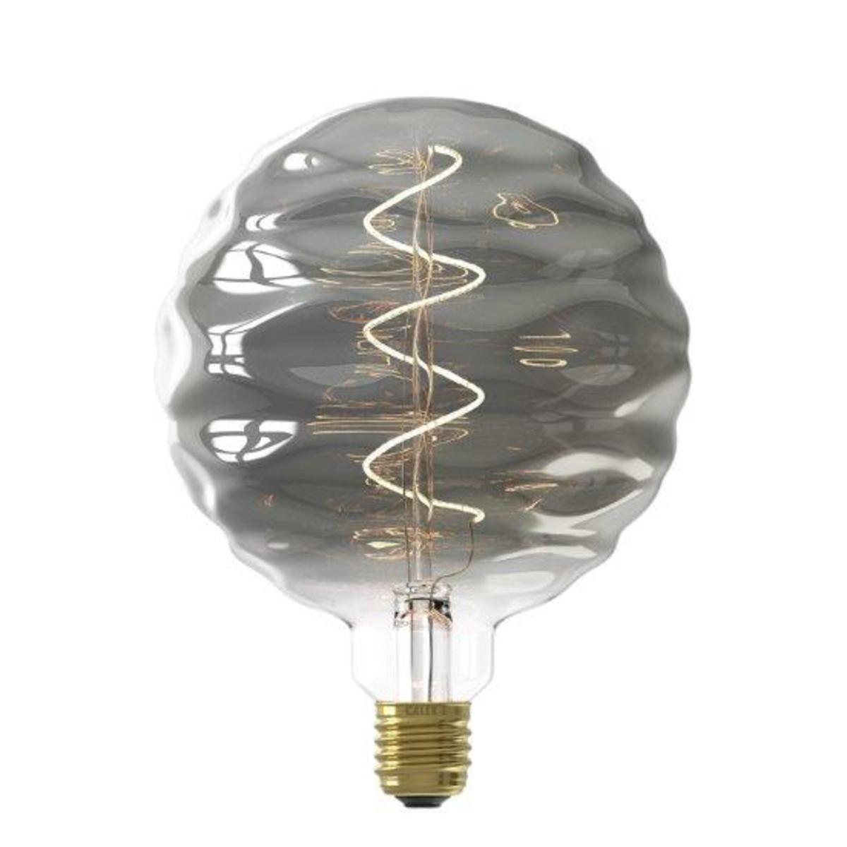 Ampoule filament décorative en verre fumé