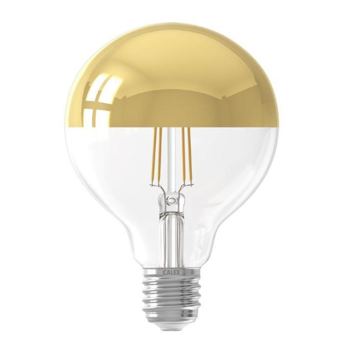 Ampoule filament décorative en verre blanc