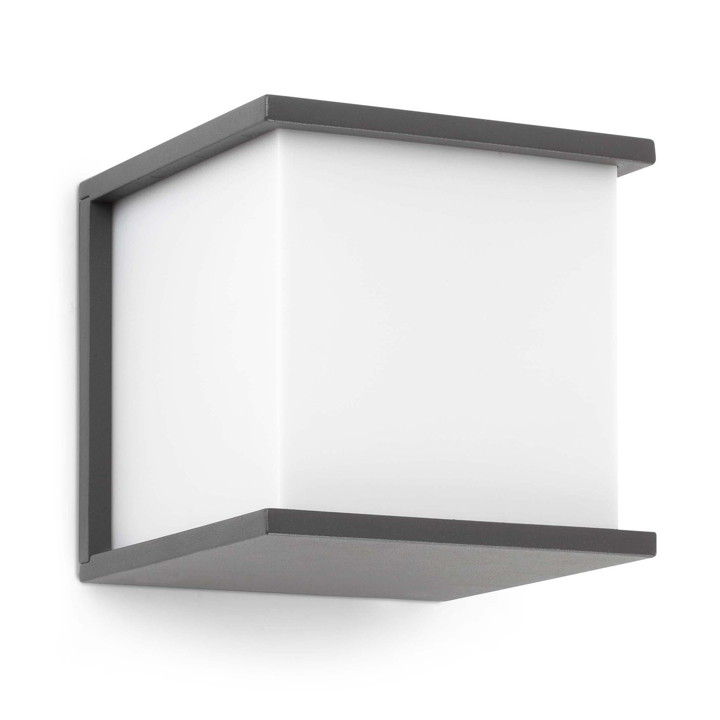 Applique extérieur en aluminium blanc