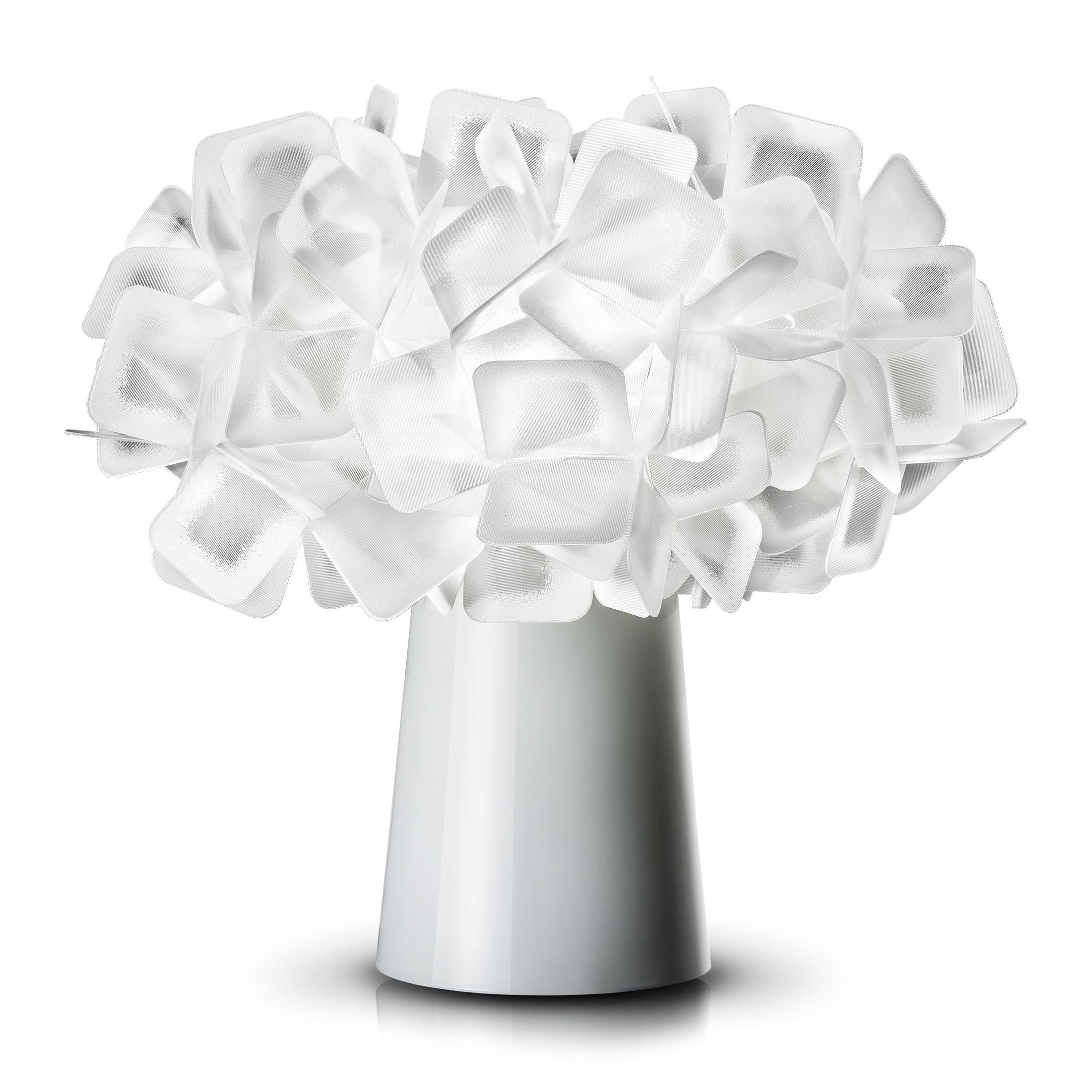 Lampe en pvc blanc
