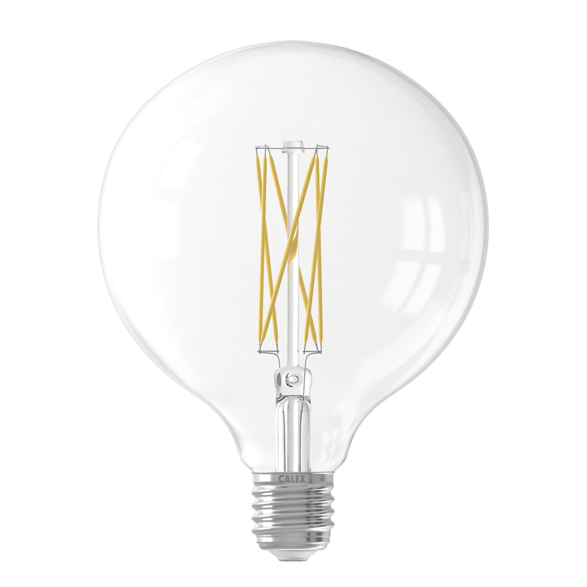 Ampoule en verre transparent