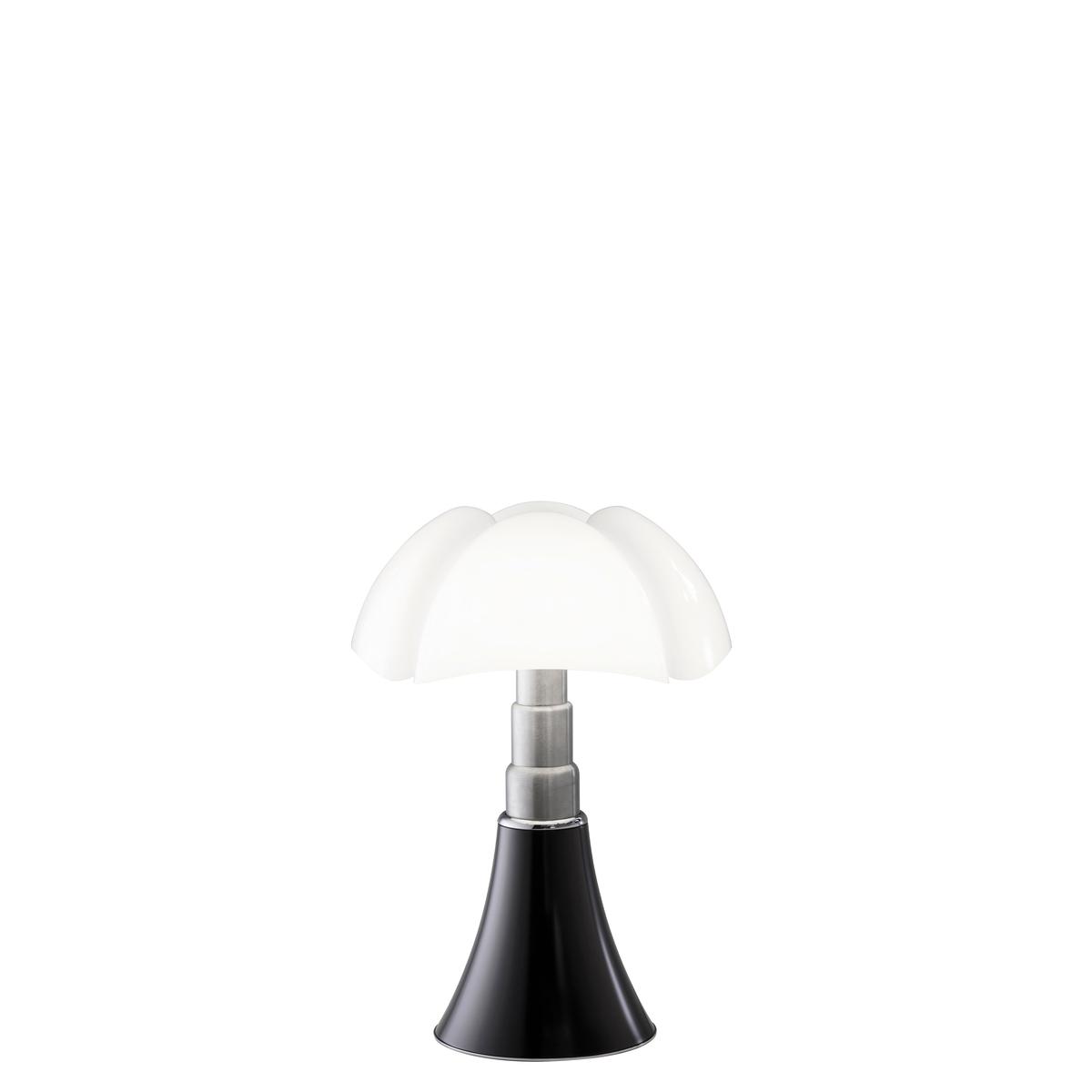 Lampe en métal noir H35cm