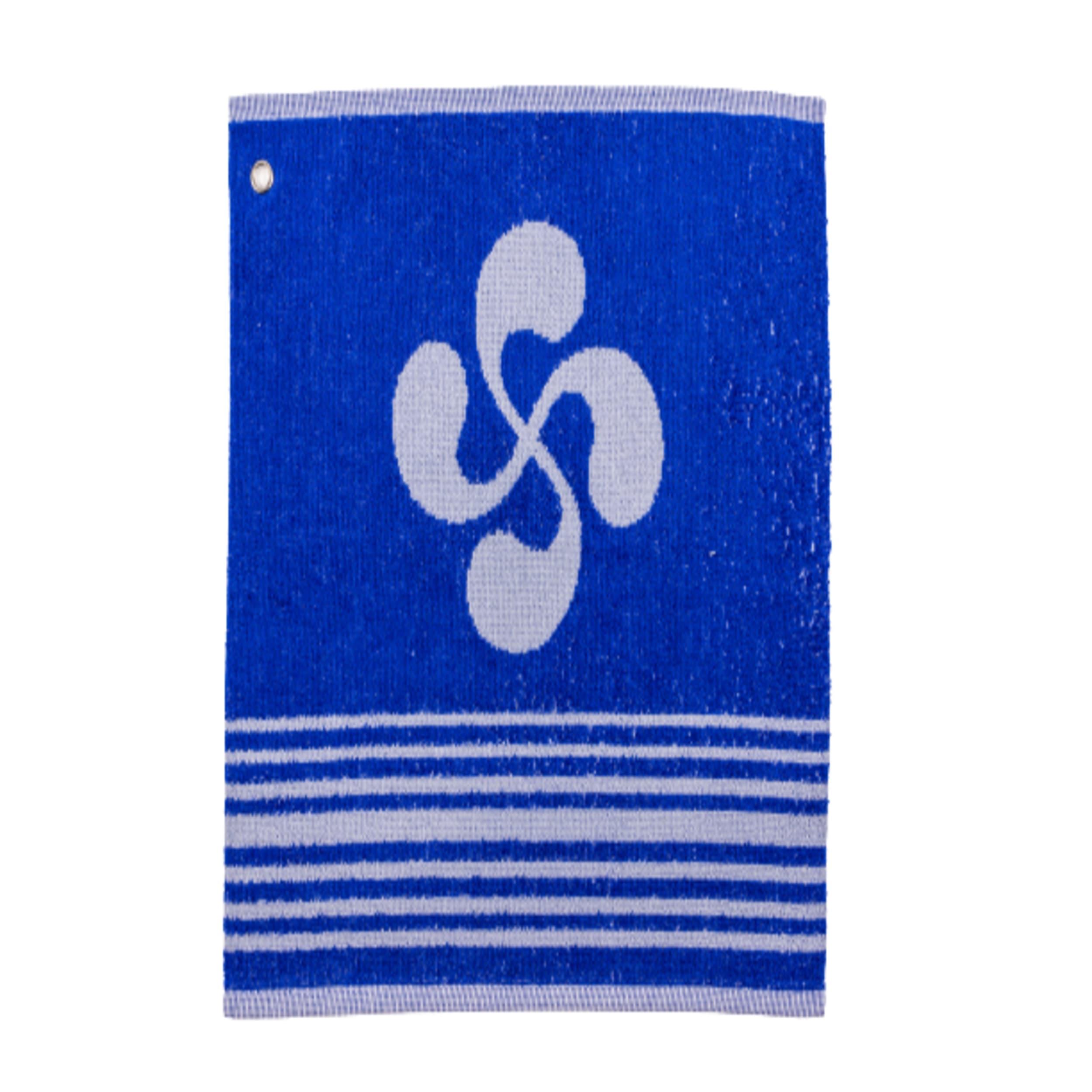 Essuie main 100% coton bleu 29 × 35 cm