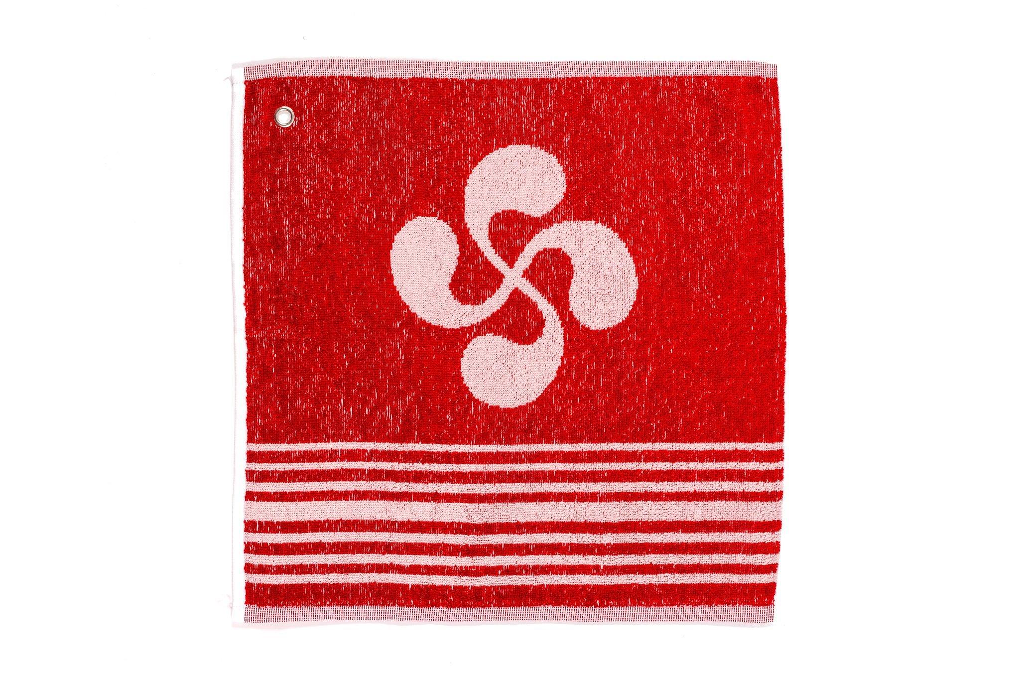 Essuie main 100% coton rouge 29 × 35 cm