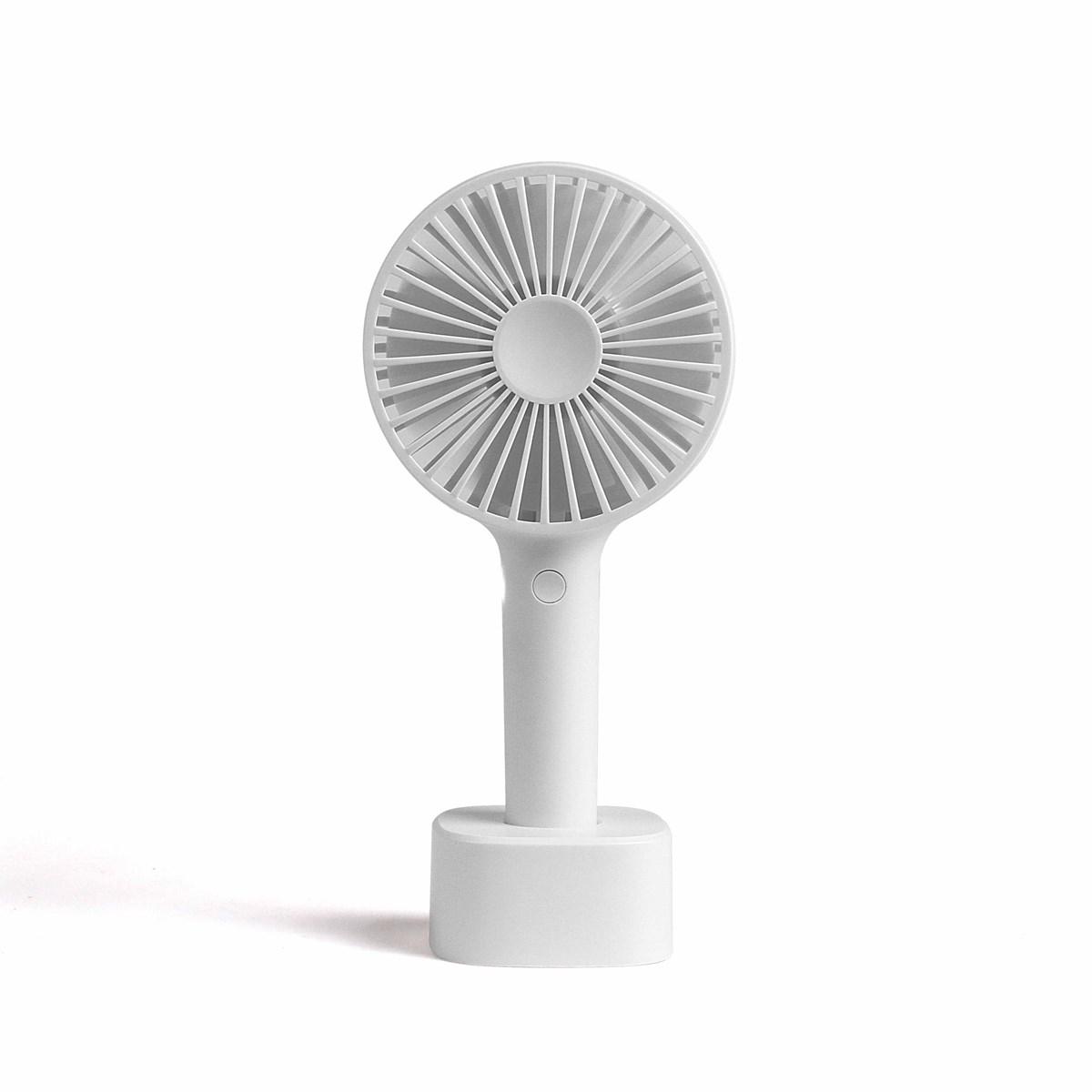 Ventilateur à main blanc