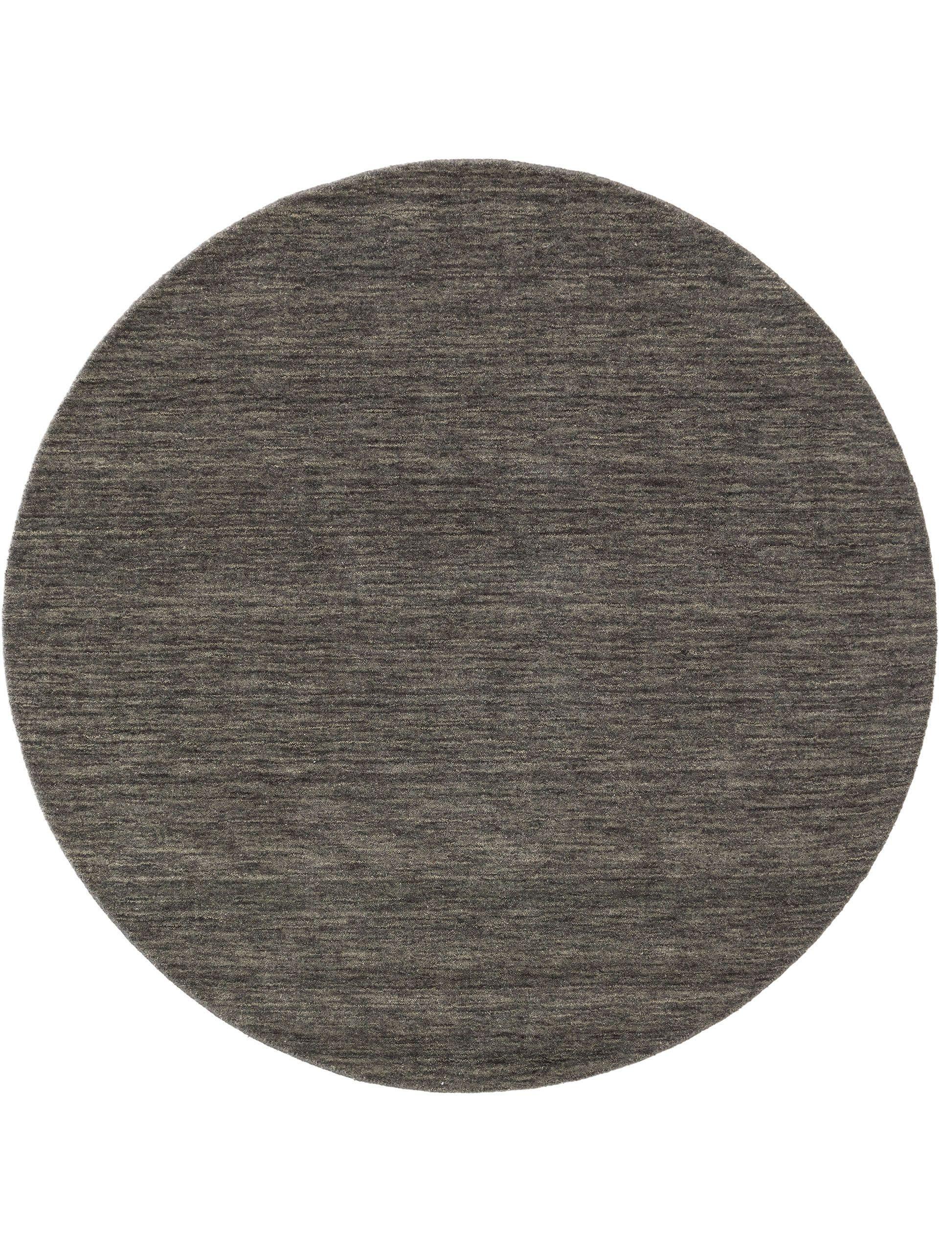 Tapis gabbeh rond gris D 120