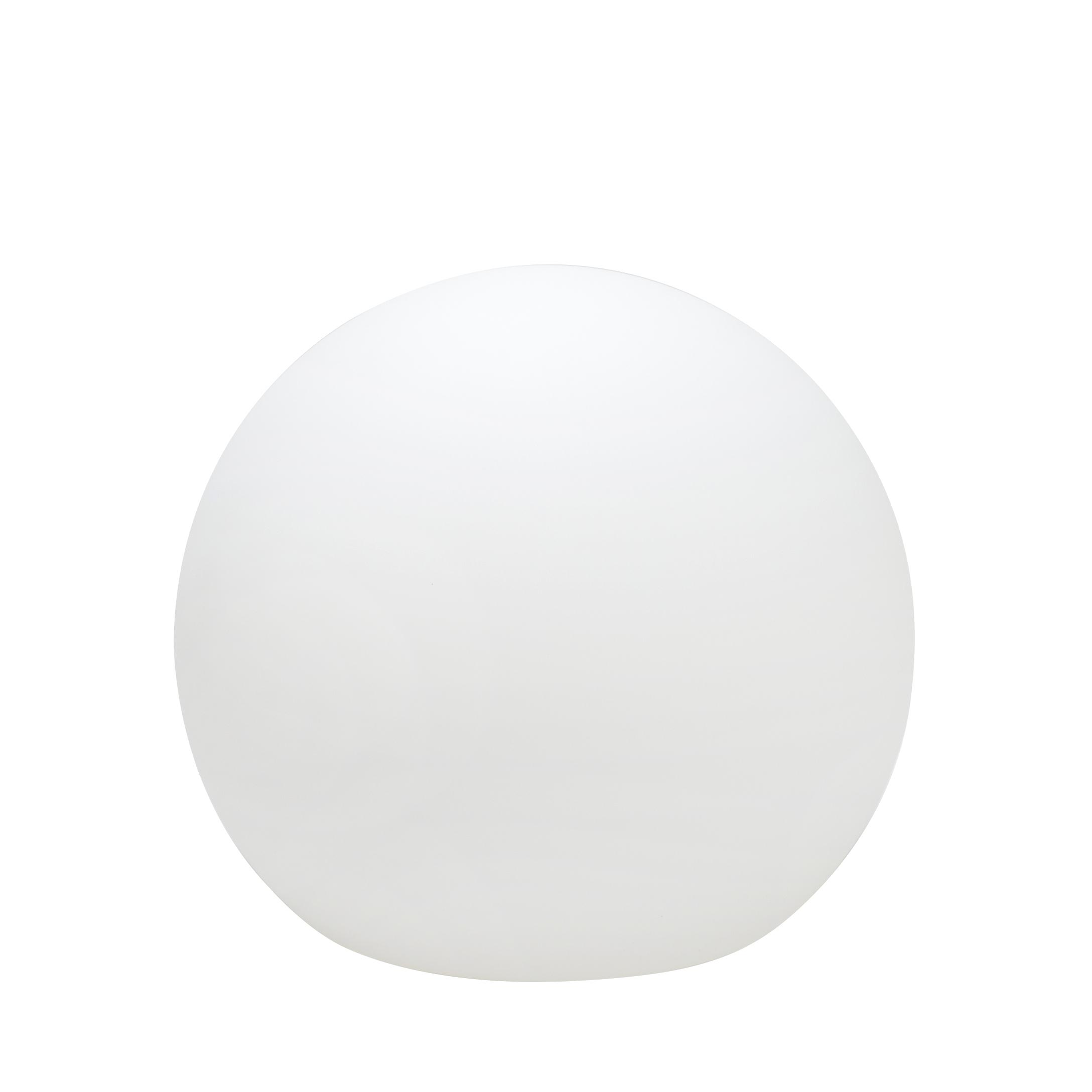 Boule lumineuse en pvc blanc