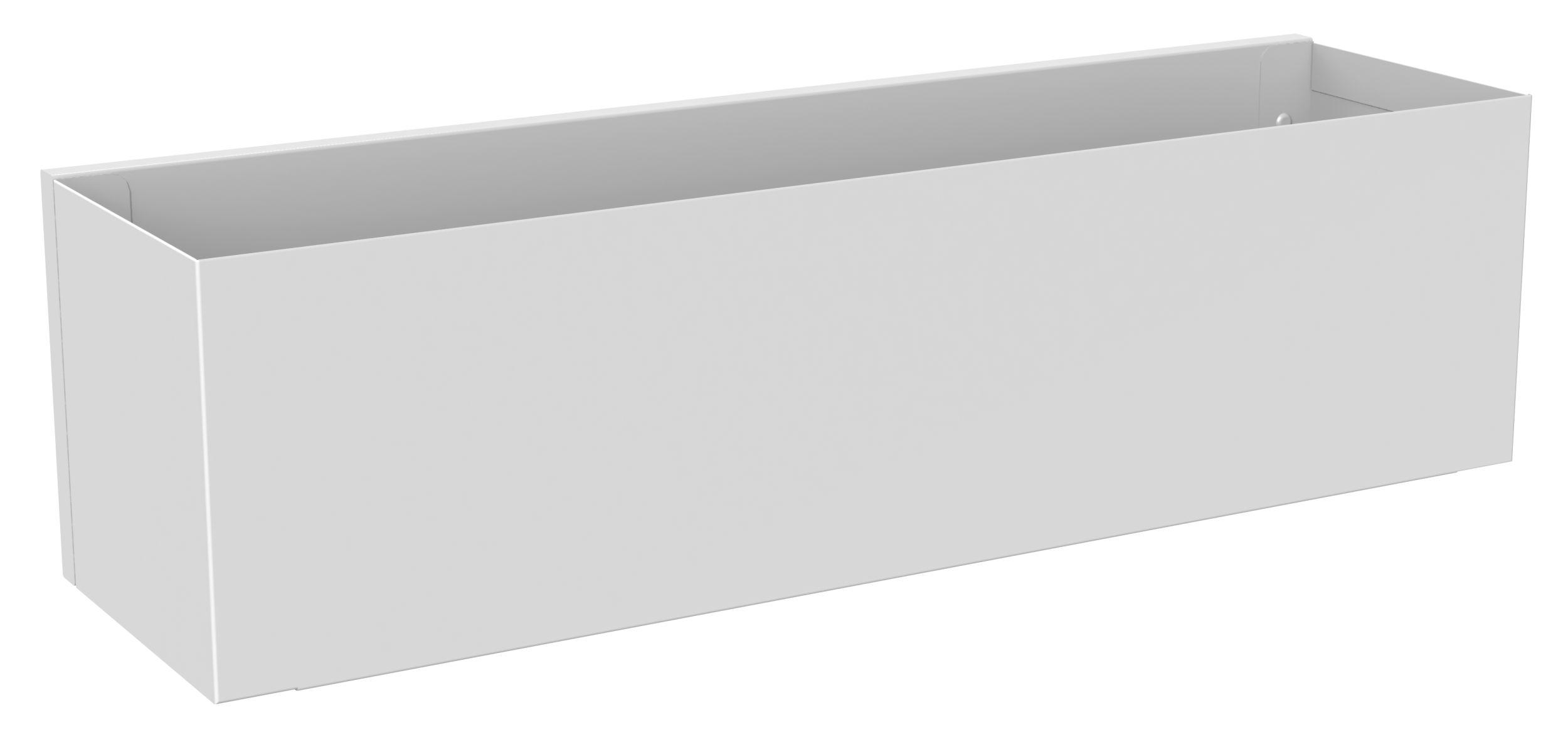 Etagère d'hôtes blanche L40cm