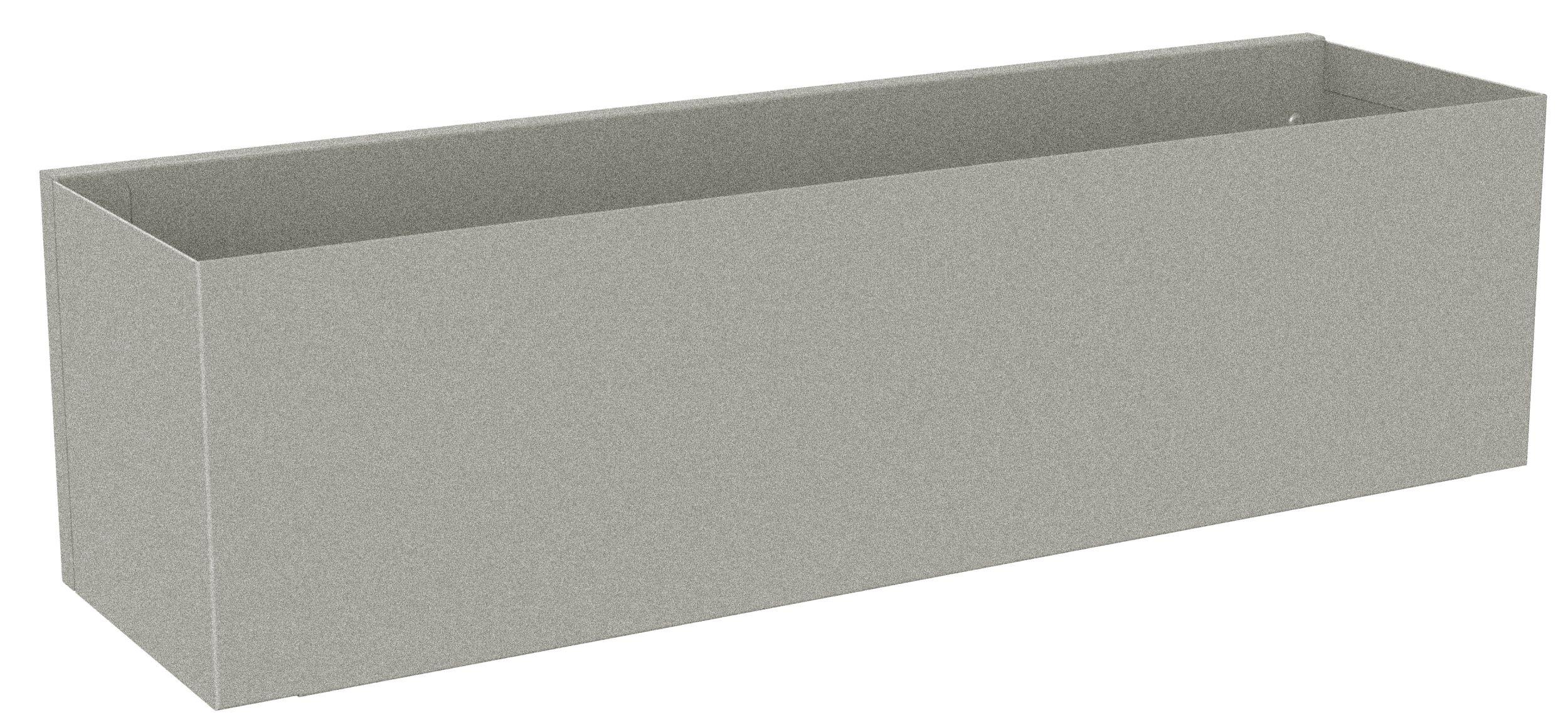 Etagère d'hôtes grise L40cm