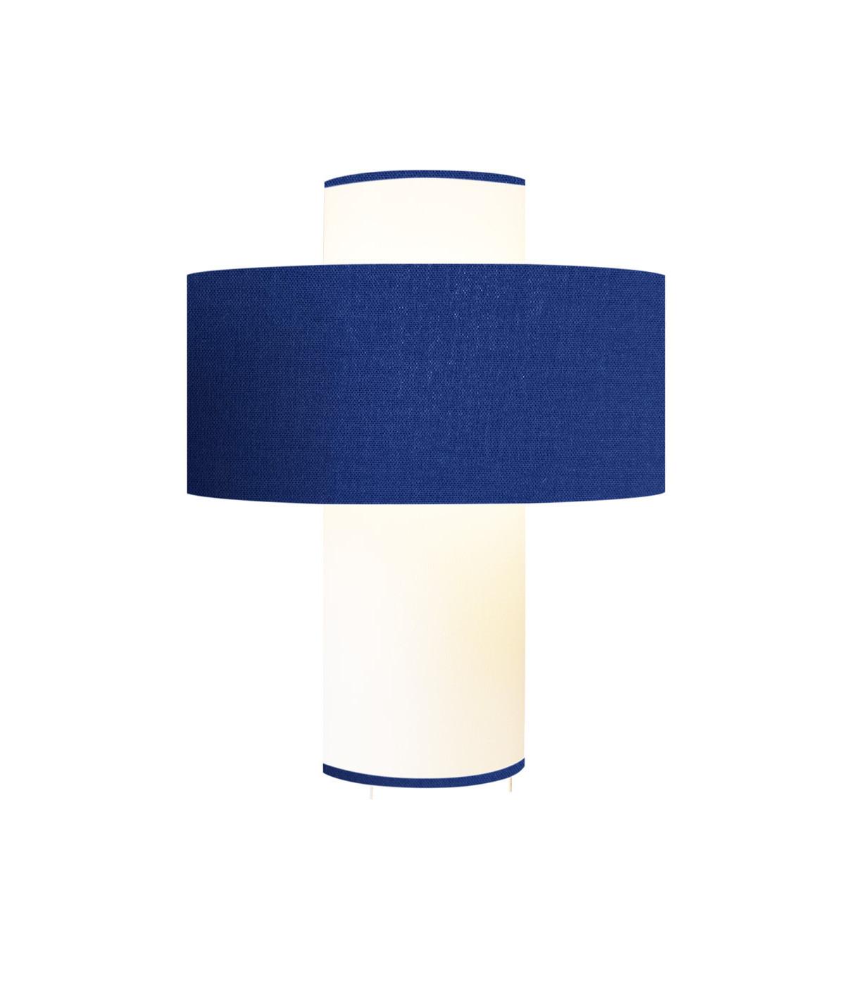 Lampe bleu D 35cm