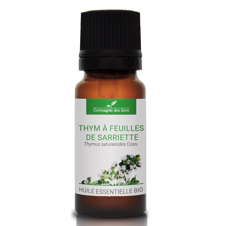 THYM À FEUILLES DE SARRIETTE - Huile essentielle bio 10ml