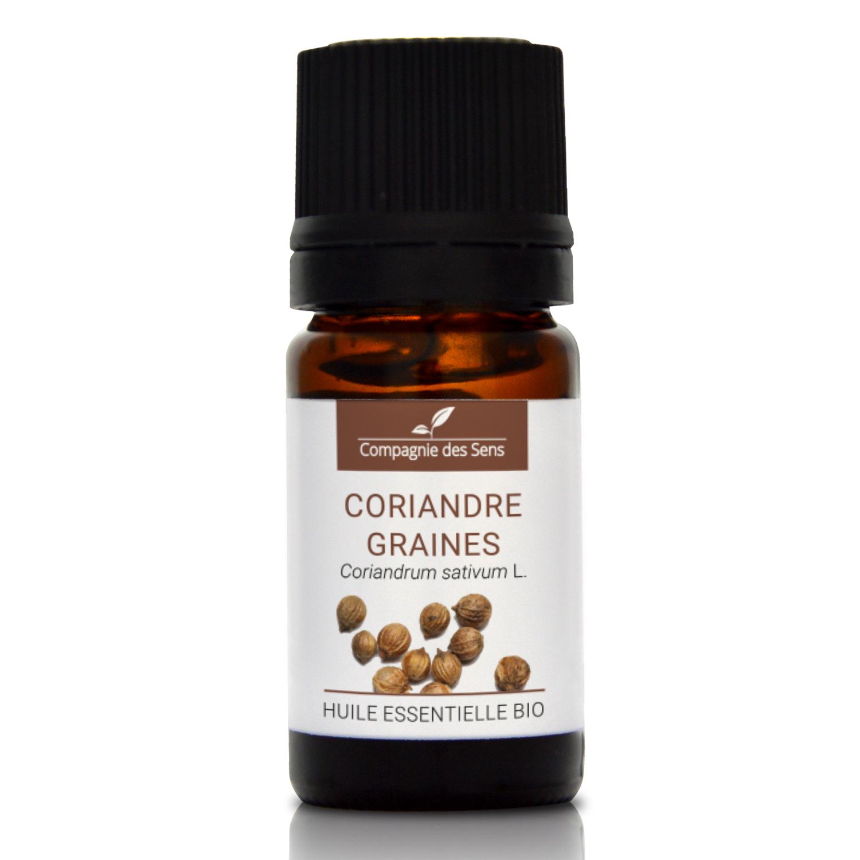 CORIANDRE GRAINES - Huile essentielle bio 5ml