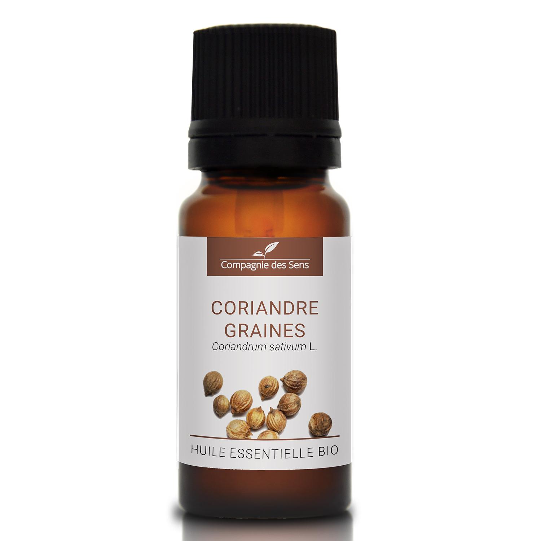 CORIANDRE GRAINES - Huile essentielle bio 10ml