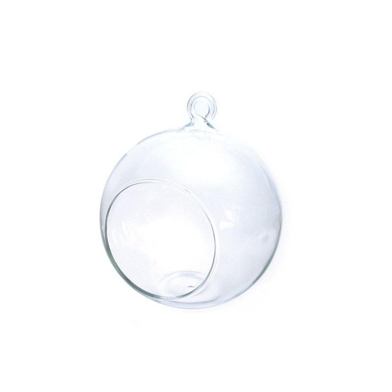 Boule verre ouverte 12cm