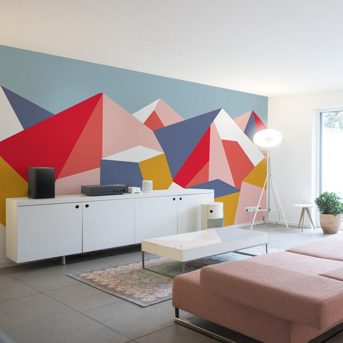 Papier peint panoramique le grand paradis 510x250cm