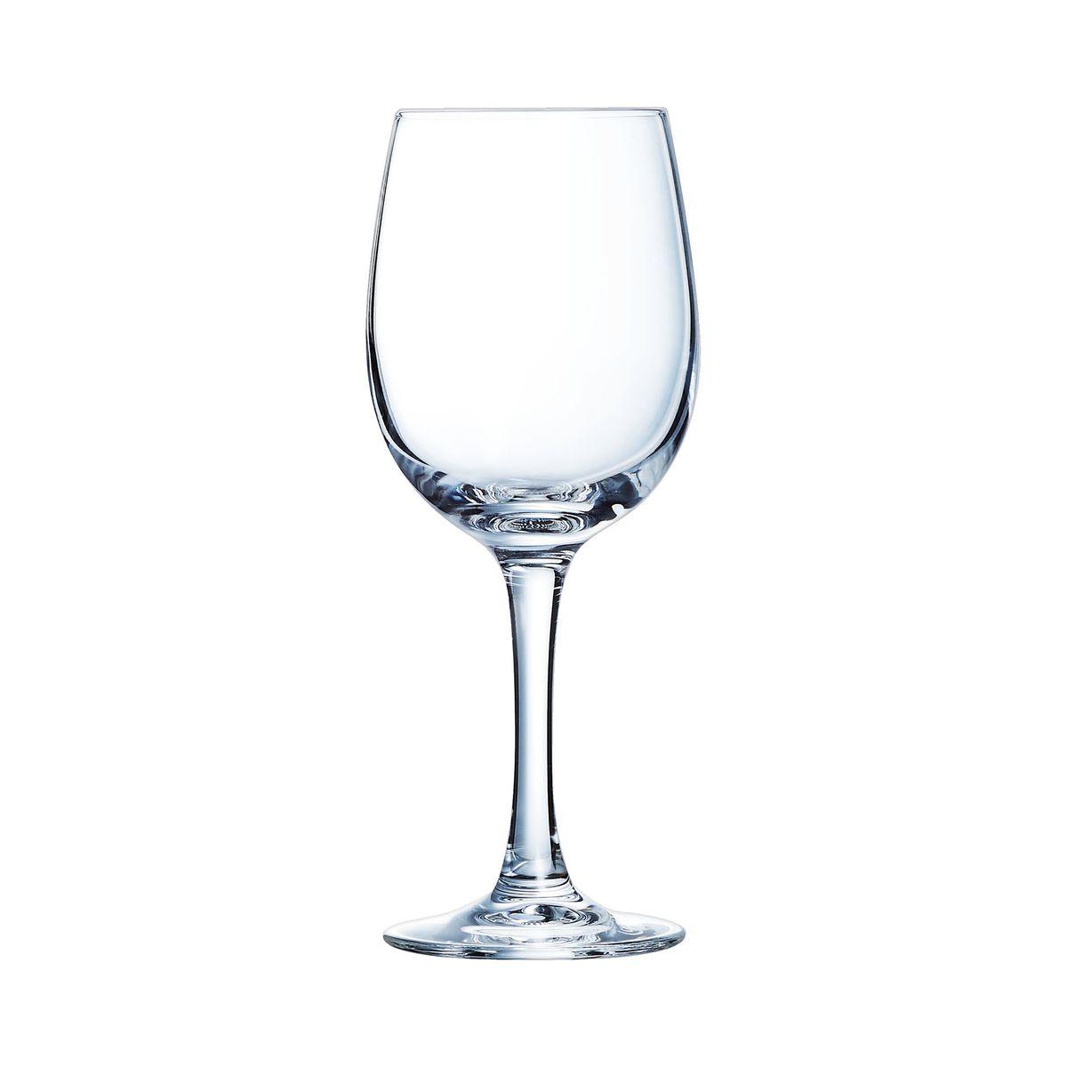 Verres à vin 19cl - Lot de 6