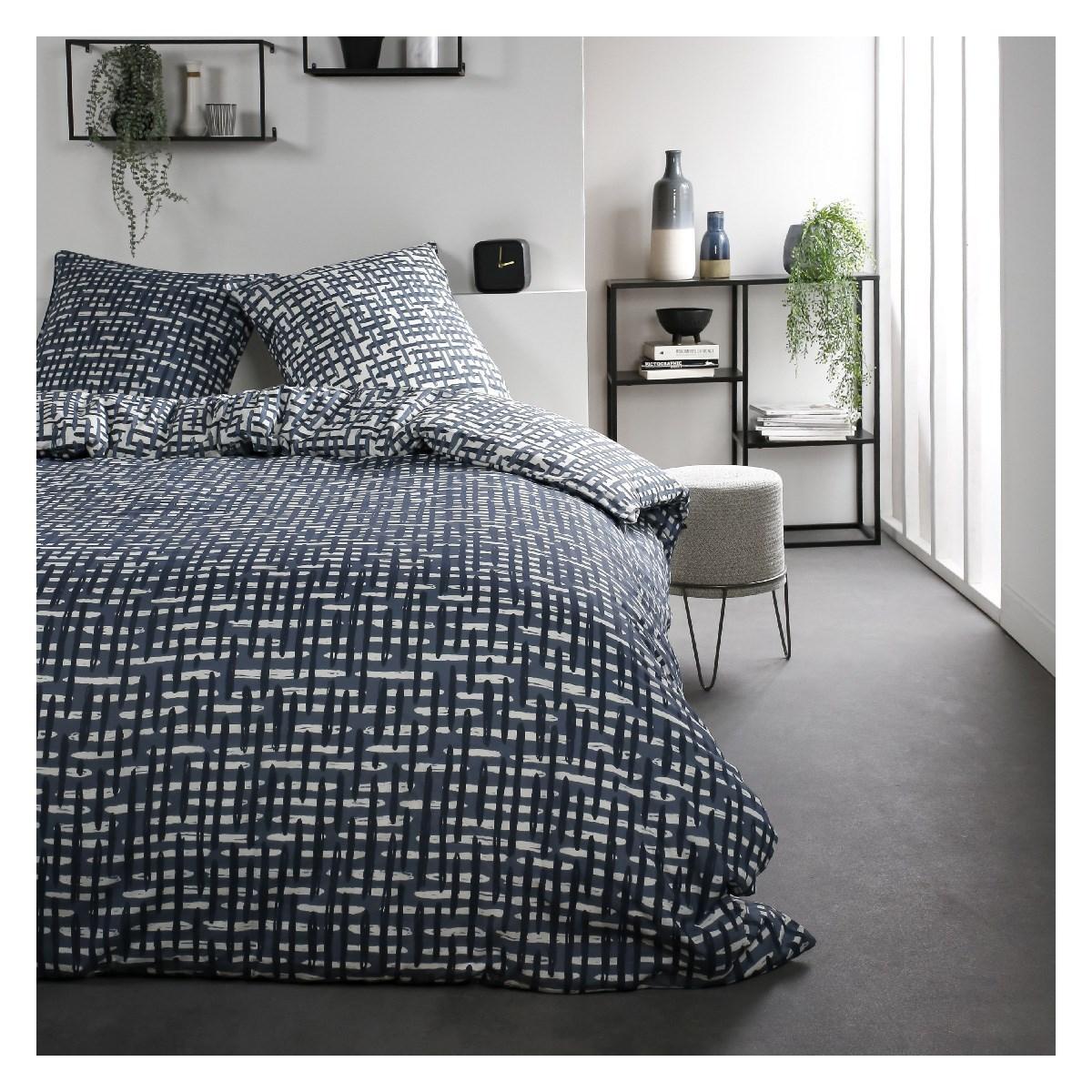 Parure de lit 2 personnes imprimé en Coton 220x240 cm