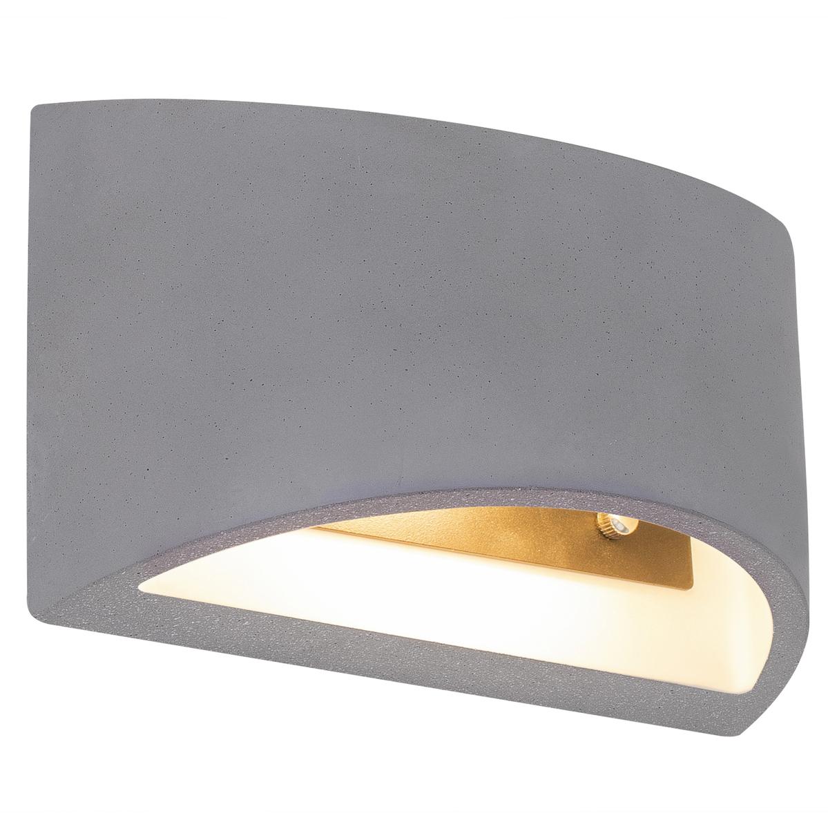 Applique en céramique gris