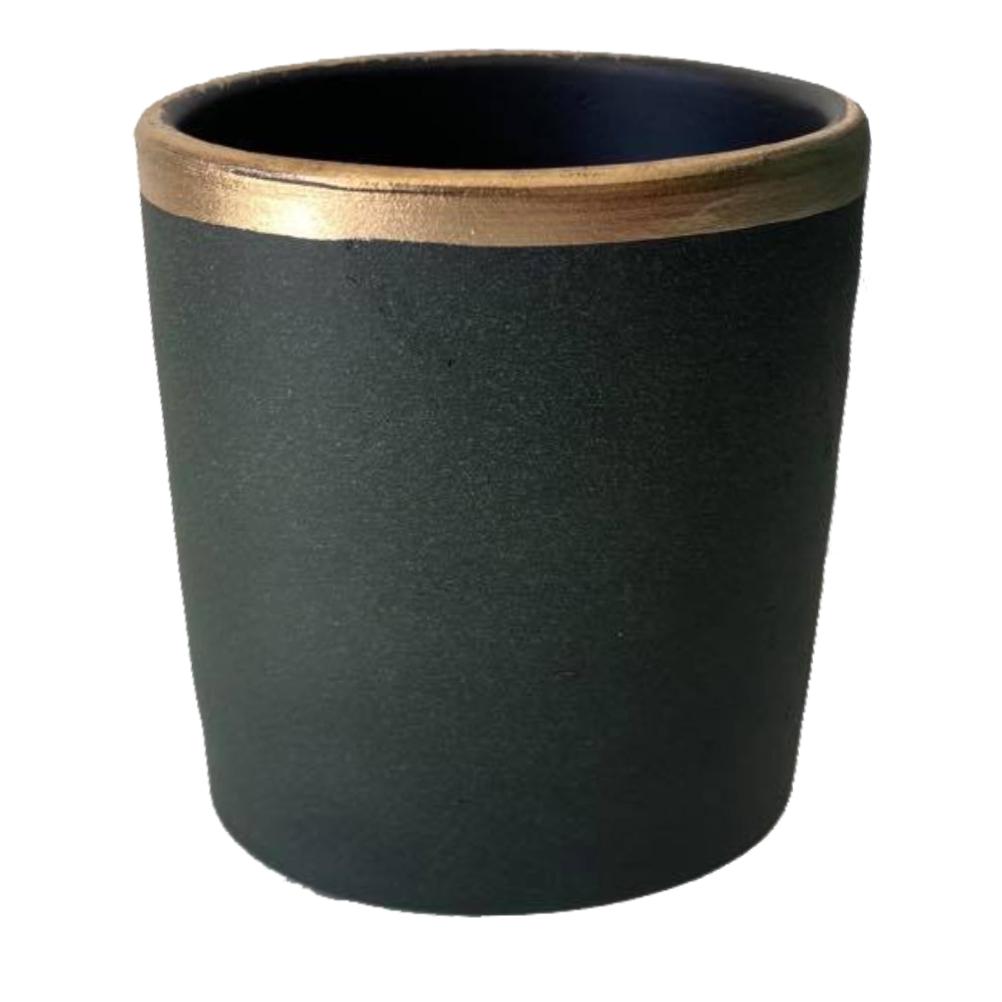 Cache pot en céramique H12cm