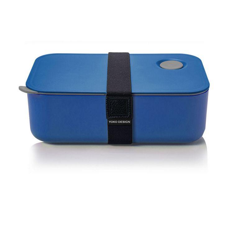Lunch box 1 etage coloris bleu 1000 ml