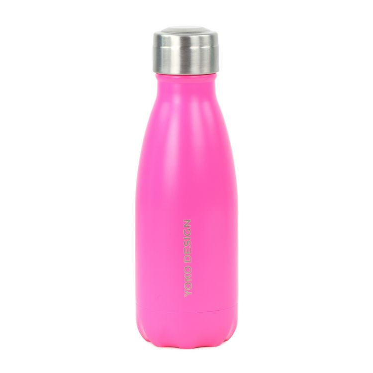 Bouteille isotherme 260 ml rose  mat