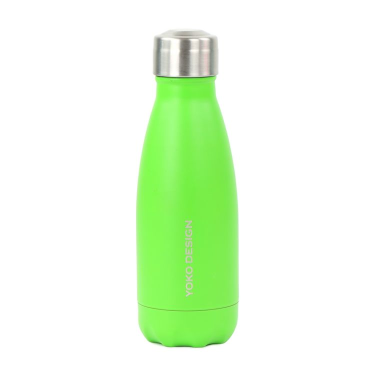 Bouteille isotherme 260 ml vert mat