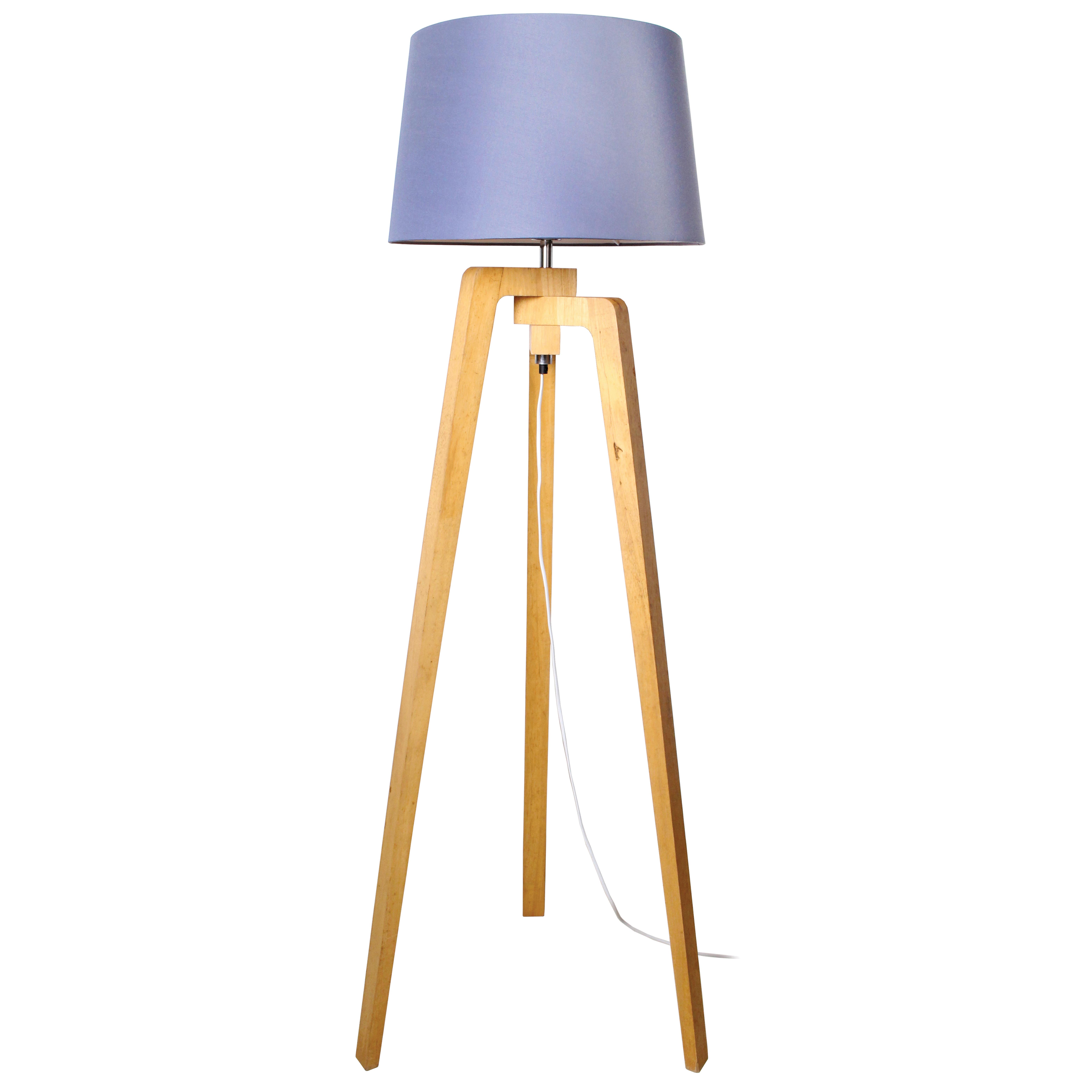 Lampadaire en bois H150cm