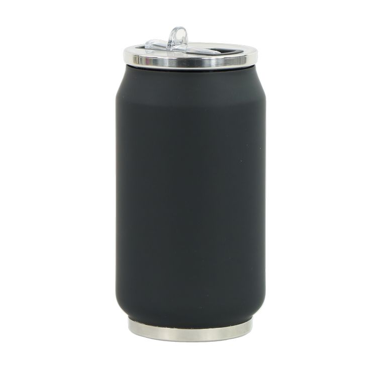 Canette soft isotherme 280 ml coloris noir