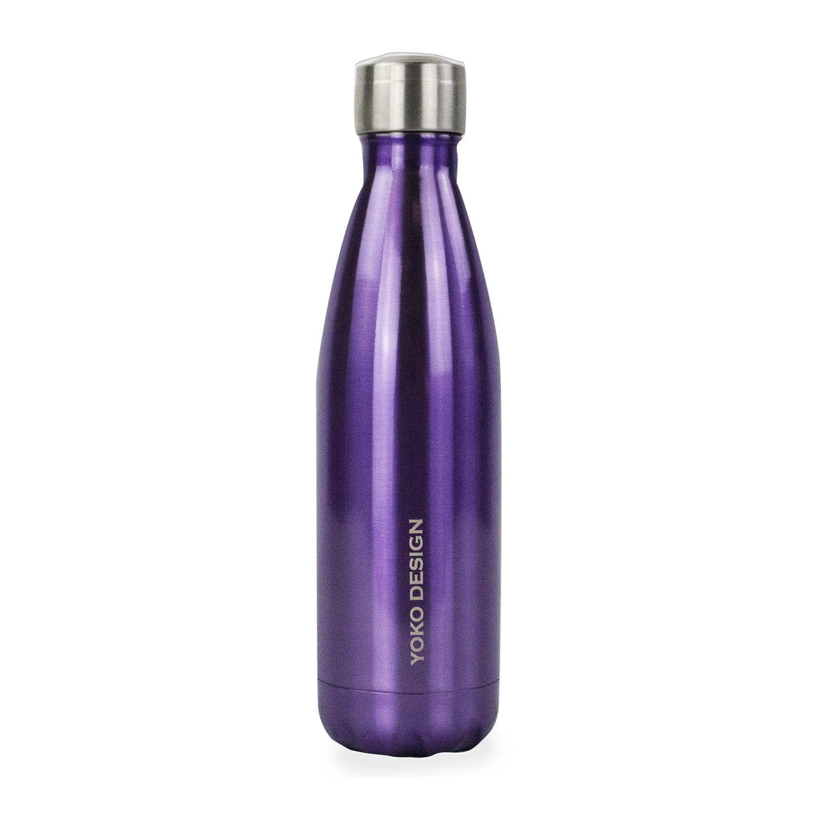 Bouteille brillant isotherme 500 ml violet