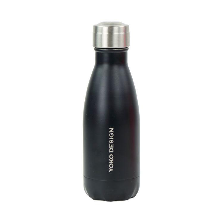 Bouteille isotherme 260 ml  noir mat