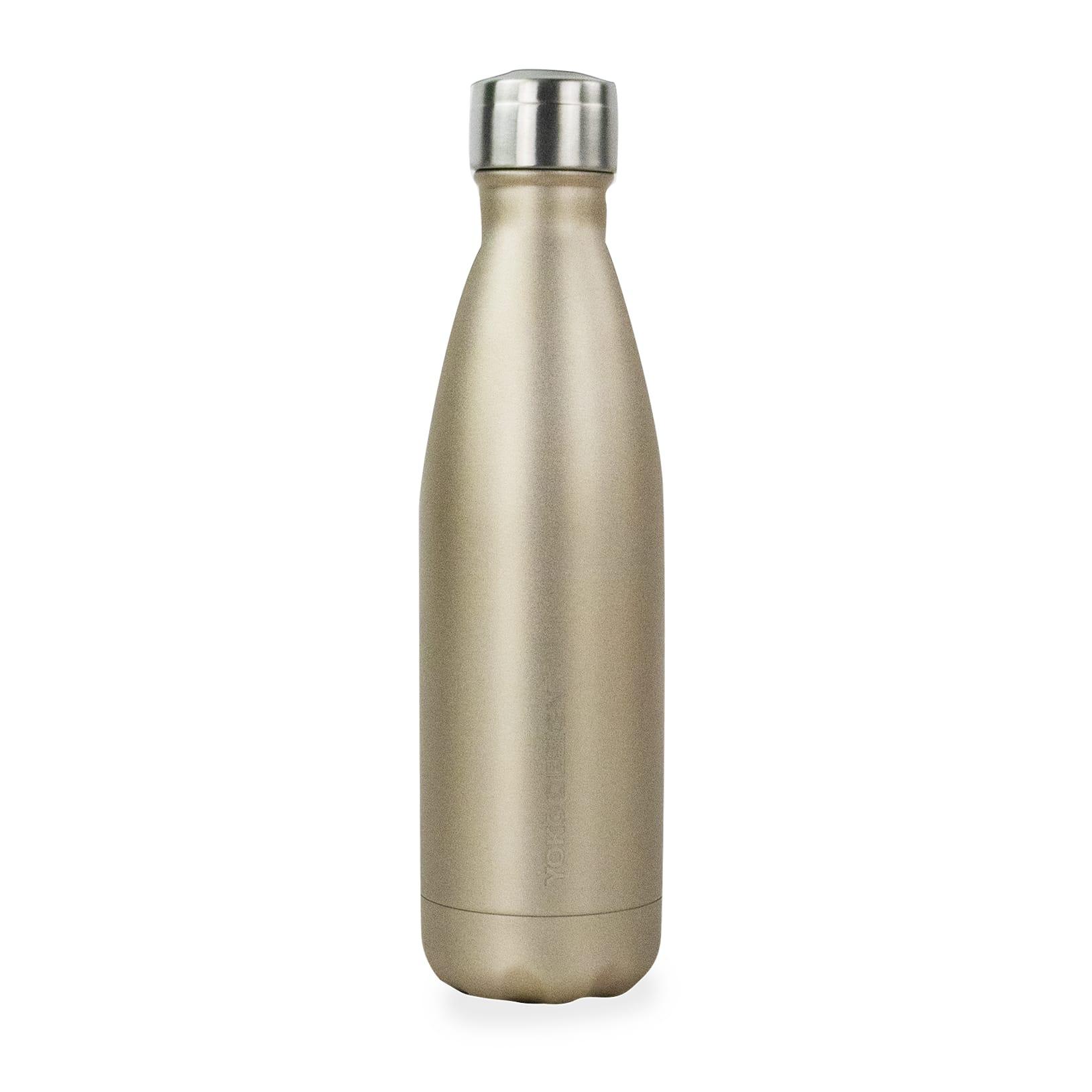 Bouteille fancy bottle 500 ml pailletee or