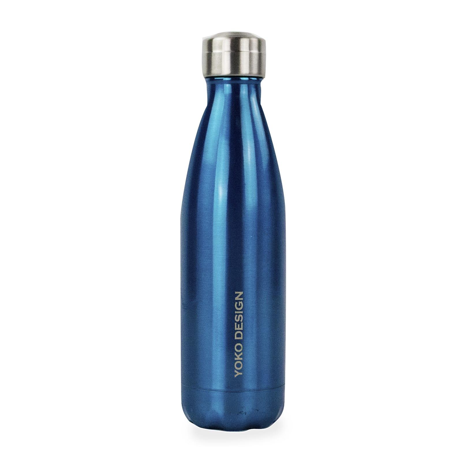 Bouteille brillant isotherme 500 ml bleu