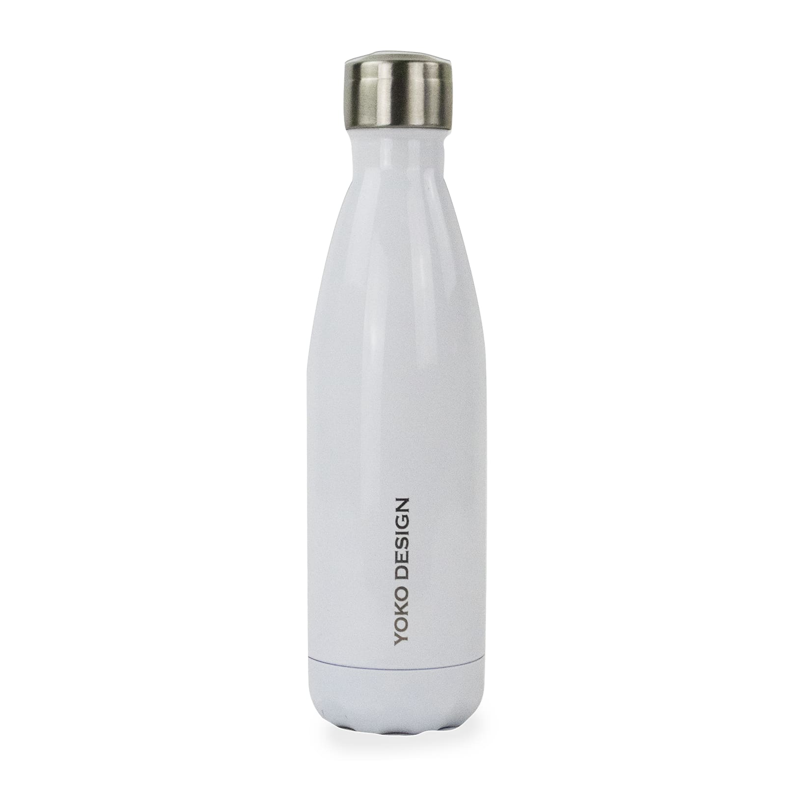 Bouteille brillant isotherme 500 ml blanc